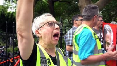 New York'ta protesto