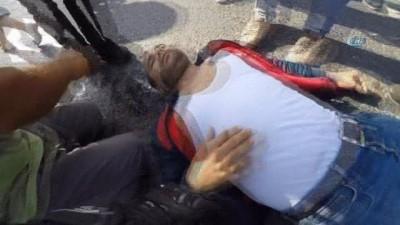 """İstanbul'da vatandaşlardan """"insanlık ölmemiş"""" dedirten an"""