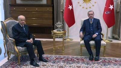 Cumhurbaşkanı Erdoğan, Devlet Bahçeli'yi kabul edecek