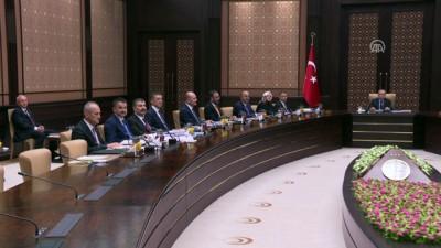 Cumhurbaşkanlığı Kabinesi toplandı - ANKARA