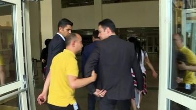 TBMM Anayasa Komisyonu Başkanı Bozdağ, Hakkı Köylü'yü ziyaret etti - ANKARA