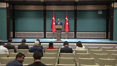 Cumhurbaşkanlığı Sözcüsü Kalın: 'Suriye kaynaklı terör tehditlerine karşı etkin mücadelemiz kararlı şekide devam edecek' - ANKARA