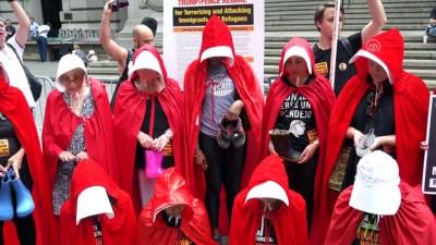 ABD'de Trump'ın göçmen politikası protesto edildi - NEW YORK