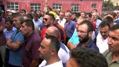 Milletvekili Çilez, maden işçilerinin sorunlarını dinledi - AMASYA