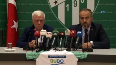 Bursaspor'a 3 milyon TL gelirli forma göğüs sponsoru