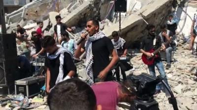 - Filistinlilerden İsrail Güçlerine Konserli Tepki