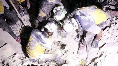 İdlib gerginliği azaltma bölgesine hava saldırıları