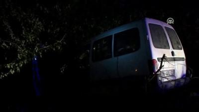 Otomobil şarampole devrildi: 5 yaralı - ANKARA