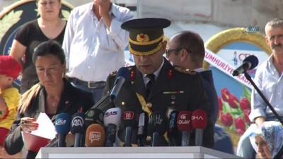 Bursa'da 30 Ağustos Zaferi resmi törenle kutlandı