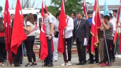 Giresun'da 30 Ağustos Zafer Bayramı kutlamalarında kız öğrenci baygınlık geçirdi