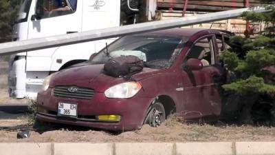 Trafik kazası: 1 ölü, 2 yaralı - KAYSERİ