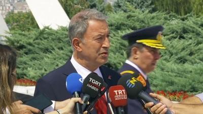 Akar: 'Amacımız, Astana sürecindeki belirlediğimiz esasların eksiksiz ve aksaksız uygulanmasını sağlamak' - ANKARA