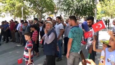 Elazığlılar 30 Ağustos'u askeri bando ile kutladı