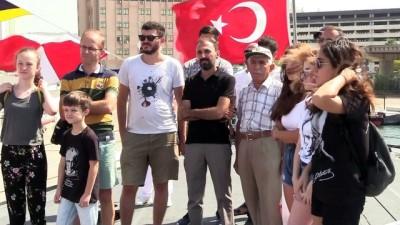 TCG Sancaktar ve TCG Büyükada vatandaşların ziyaretine açıldı - İZMİR