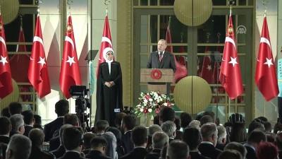 Cumhurbaşkanı Erdoğan: 'Türkiye'yi devletçiklerle karıştıranlara bu ülkenin binlerce yıllık tarihini hatırlatmak zorunda kalıyoruz' - ANKARA