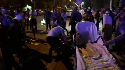 Malatya'da zincirleme trafik kazası: 2 yaralı