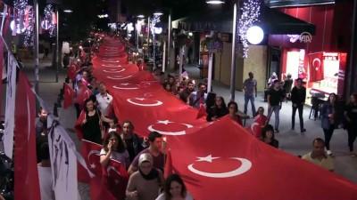 'Zafer Yürüyüşü' düzenlendi - KIRKLARELİ