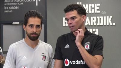 Beşiktaş - Partizan maçının ardından - Beşiktaş'ın Portekizli futbolcusu Pepe - İSTANBUL
