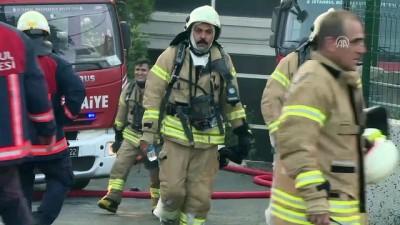 Başakşehir'de fabrika yangını -(2) - İSTANBUL