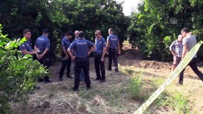Bahçede gömülü ceset bulundu - ADANA