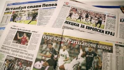 Sırp basınından Pepe'ye övgü - BELGRAD