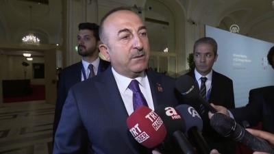 Çavuşoğlu: '(ABD) Yeni yönetimin müttefiklerine ve dostlarına davranış biçimi herkesi rahatsız etmeye başladı' - VİYANA