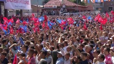 Erdoğan: 'İstihdam gayet iyi, iyi gidiyoruz.' - BALIKESİR