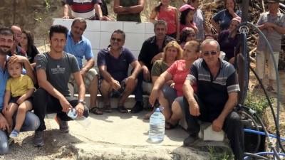 Mahalleliden 'su eylemi' - HATAY