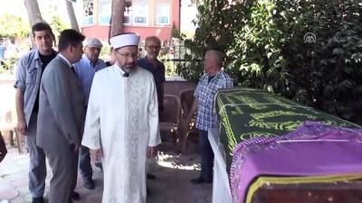 Diyanet İşleri Başkanı Erbaş, cenaze törenine katıldı - KIRKLARELİ