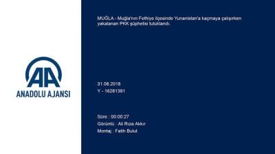 Düzensiz göçmenler arasında yakalanan PKK şüphelisi tutuklandı - MUĞLA