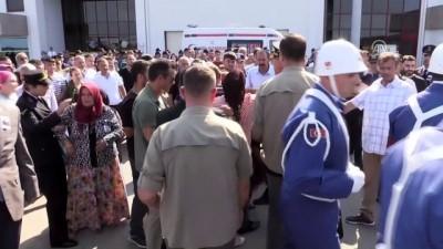 Şehit Jandarma Uzman Onbaşı Adem Güven'in cenazesi memleketi Samsun'a getirildi