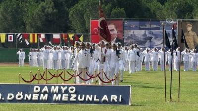Deniz Astsubay Meslek Yüksekokulunda mezuniyet sevinci - YALOVA