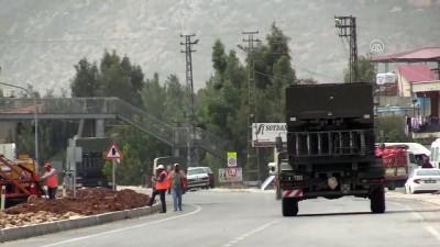 İdlib sınırına askeri sevkiyat sürüyor (2) - HATAY
