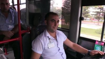 Tepki gösterdiği şoför hayatını kurtardı - ERZİNCAN
