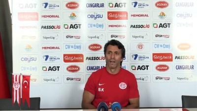 Antalyaspor Teknik Direktörü Korkmaz: 'Başakşehir karşısında kazanmak için oynayacağız' - ANTALYA
