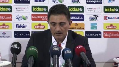 Çaykur Rizespor-Bursaspor maçının ardından - RİZE