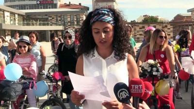 'Süslü Kadınlar Bisiklet Turu' - ÇORUM