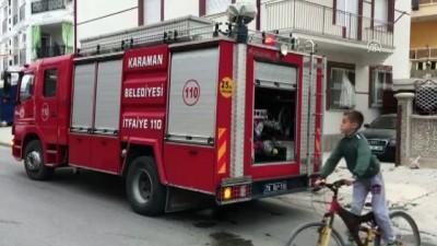 Çakmak gazı tüpü patladı: 2 çocuk yaralı - KARAMAN