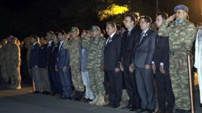 Şehit Özdemir için Hakkari'de tören düzenlendi