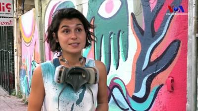 İstanbul'da Grafiti Patlaması
