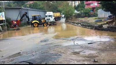 Beykoz'da şiddetli yağış (1) - İSTANBUL