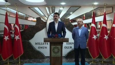 Bakan Kurum:'Terörden zarar gören tüm vatandaşlarımıza evlerini teslim ediyor olacağız' - MARDİN