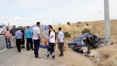 Trafik kazası: 2 ölü, 2 yaralı - ADIYAMAN