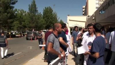 Diyarbakır'da doktora saldıran hasta öğretmen çıktı