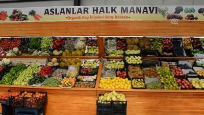 Görevlendirme yapılan belediyeden 'organik köy pazarı' - BATMAN