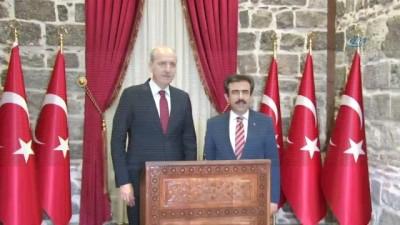 """AK Parti Genel Başkan Vekili Numan Kurtulmuş: """"Suudi gazeteci ile ilgili umudumuzu korumak istiyoruz"""""""
