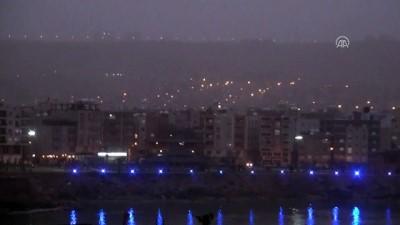 Cizre'de toz taşınımı etkili oldu - ŞIRNAK