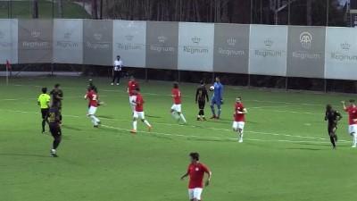 Hazırlık maçı - Antalyaspor: 1 - Evkur Yeni Malatyaspor: 1 - ANTALYA