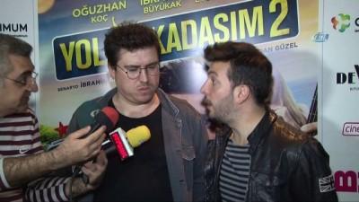 Sinemaseverler Yol Arkadaşım 2'nin İzmir galasında buluştu
