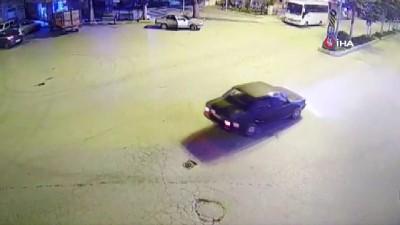 MOBESE'nin önünde drift atınca 5 bin lira ceza yedi
